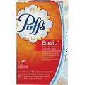Puffs® Basic Facial Tissues, 2-Ply, 3/Pack