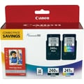 Canon PG240XL/CL241XL Black and Color Cartridges Photo Value Combo 2/Pack (PG240XL/CL241CP), High Yield