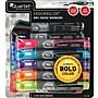 Quartet EnduraGlide® Dry-Erase Markers, Chisel Tip, Assorted Ink,