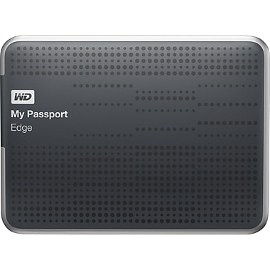 WD My Passport Edge 500GB Portable USB 3.0 and USB 2.0 compatibility
