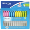 Westcott 5in. Classroom Pack with Microban® Antimicrobial Protection, Pointed Tip, 12/Pack