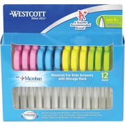 Westcott® 5 Classroom Pack with Microban® Antimicrobial Protection, Pointed Tip, 12/Pack