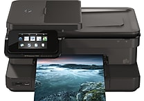 HP Photosmart 7520 Refurbished e-All-in-One Printer with Full Ink Cartridge