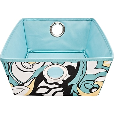 Macbeth Low Profile Fabric Bin, Sophia Collection