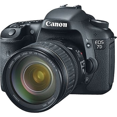 Canon EOS 7D EF  Digital SLR Camera with 28-135mm IS Lens Kit