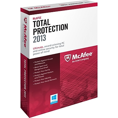 McAfee Total Protection 2013 for Windows (3-User) [Boxed]