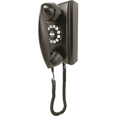 Crosley Radio Wall Phone, Black