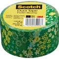 Scotch® Brand Duct Tape, Feelin' Bloomy, 1.88in. x 10 Yards