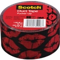 Scotch® Brand Duct Tape, Pucker Up, 1.88in. x 10 Yards