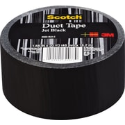 "Scotch® Brand Duct Tape, Jet Black, 1.88""x 20 Yards"