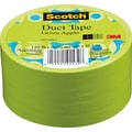 Scotch® Brand Duct Tape, Green Apple, 1.88in.x 20 Yards