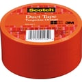 Scotch® Brand Duct Tape, Tangerine Orange, 1.88in. x 20 Yards