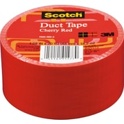 "Scotch® Brand Duct Tape, Cherry Red, 1.88"" x 20 Yards"