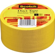 "Scotch® Brand Duct Tape, Sunshine Yellow, 1.88"" x 20 Yards"