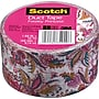 Scotch® Brand Duct Tape, Paisley Princess, 1.88 x