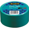 Scotch® Brand Duct Tape, Blue Turquoise, 1.88in.x 20 Yards