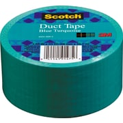 Scotch® Brand Duct Tape, Blue Turquoise, 1.88x 20 Yards