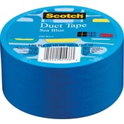 "Scotch® Brand Duct Tape, Sea Blue, 1.88"" x 20 Yards"