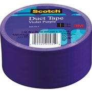 "Scotch® Brand Duct Tape, Violet Purple, 1.88"" x 20 Yards"