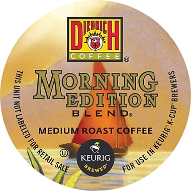 Keurig K-Cup Diedrich Morning Edition Blend Coffee, Regular, 24/Pack