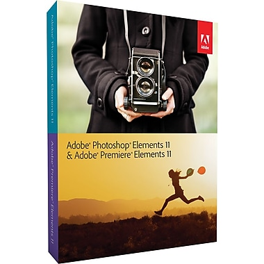 Adobe Photoshop & Premiere Elements 11 for Windows/Mac (1-User) [Boxed]