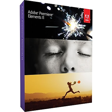 Adobe Premiere Elements 11 for Windows/Mac (1-User) [Boxed]