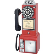 Crosley Radio 1950's Pay Phone, Red
