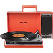 Crosley Radio Spinnerette Record Player, Red