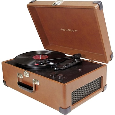 Crosley Radio Traveler Turntable, Tan