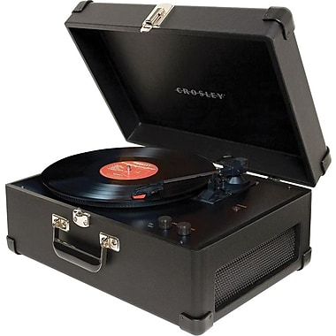 Crosley Radio Traveler Turntable, Black