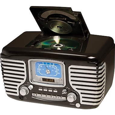 Crosley Radio Corsair Clock CD Player and Radio