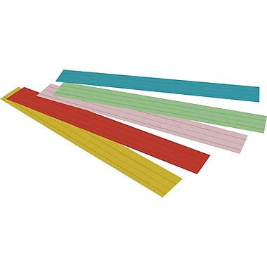 Pacon® Sentence Strips; Assorted Colors