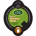 Keurig Vue Pack Green Mountain Breakfast Blend Coffee, Decaffeinated, 32/Pack