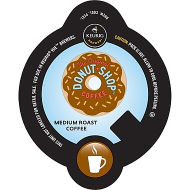 Keurig Vue Pack Coffee People Original Donut Shop, Regular, 32/Pack