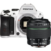 Pentax K30 SLR Camera with 18-55mm AL Lens Kit, White