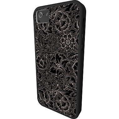 IFrogz Mix Cover for iPhone 5, Black Flower