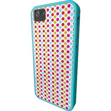 iFrogz Mix Cover for iPhone 5, Polka Dots