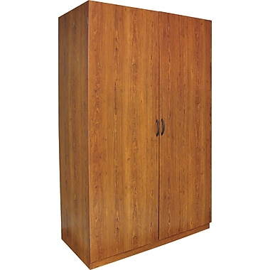 Ameriwood Large Storage Wardrobe, Bank Alder