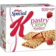 Kellogg's® Special K® Pastry Crisps, Strawberry, 9 Packs/Box