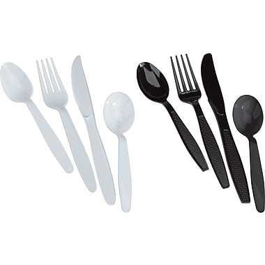 Brighton Professional Heavy Duty Plastic Cutlery