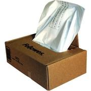 Fellowes® 36055 Powershred® Shredder Waste Bag, Clear, 60 gal