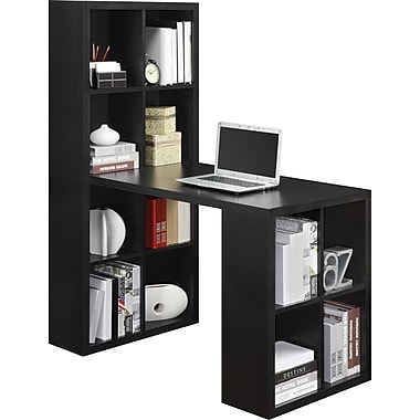 Altra Furniture 9358196 Hollow Core Hobby Desk, Black