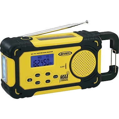 Jensen MR-750 AM/FM Weather Band Radio with Weather Alert