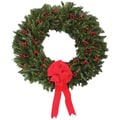 Fresh Berry Christmas Wreaths with Hanger