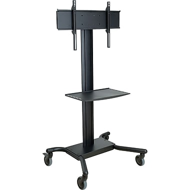 Peerless®-AV™ SmartAmount® SR560M TV Cart With Shelf, Up To 150 lbs.
