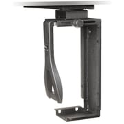 3M™ CS200MB Under-Desk Steel CPU Holder With Swivel, 8.25(H) x 14.8(W) x 20(L)
