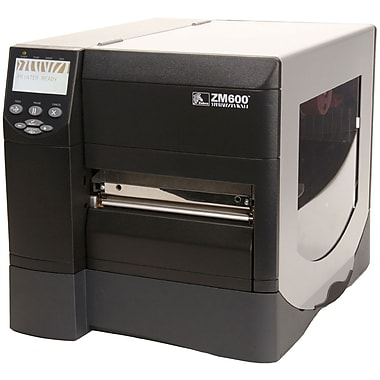 Zebra® Z Series® ZM600 Series Printer, Monochrome, Parallel Serial USB Interface