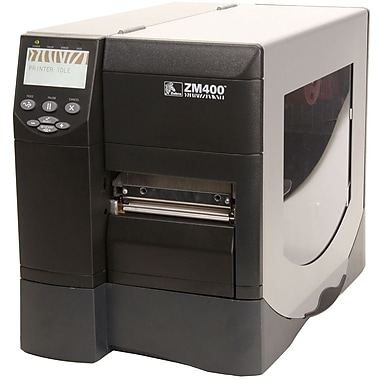 Zebra® Z Series® ZM400 Series Printer with Peeler and Rewind, 203 mm/sec Speed