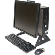 Rack Solutions® RETAIL-DELL-AIO-015 Computer Stand, Black