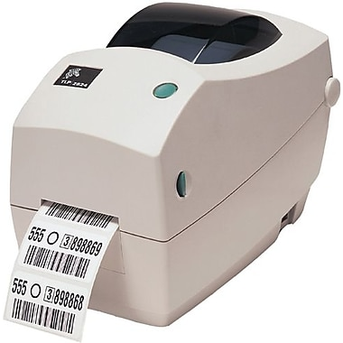 Zebra® 282P-101110-000 LP2824 Series Desktop Printer, Monochrome, USB RS-232 1 x RJ-45 Interface